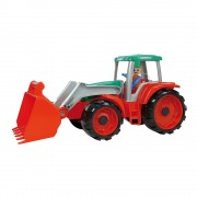 Lena Játék traktor, homlokrakodóval