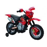 Happy Rider 6 Volt Battery Operated Ride On Dirt Bike Red