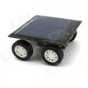 DIY énergie solaire Assemblage Toy Car Set - Noir + argent + multicolore