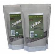 Pagamento contra entrega - 2kg sementes de chia pretas 100% livre da pesticida