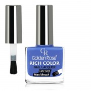 GOLDEN ROSE Rich Color blauwe nagellak 49