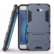 Case cover for Samsung Galaxy J5 Prime SM-G570F/DD / On 5 (2016) , Defender Hybrid Armor with stand back case cover with bracket stand for Samsung Galaxy J5 Prime SM-G570F/DD / On 5 (2016) - Navy Black