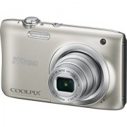 b2b Nikon Coolpix A100 Point & Shoot Camera (Silver)