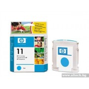 HP 11 Cyan Ink Cartridge, 28ml (C4836A)