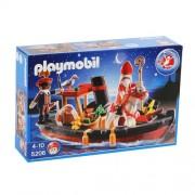 Playmobil St. Nikolaus Und Knecht Ruprecht Im Boot Nr. 5206