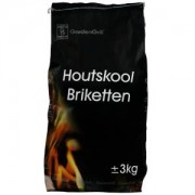 Barbecue briketten - 3.0 KG
