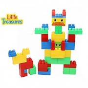 Animals Toy Building block 78 pieces Mega Blocks compatible toy set for 12+ months toddlers