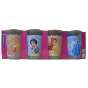 Luminarc Disney Hercegnők 4 darab üdítős pohár 2,5 dl-es - 501960