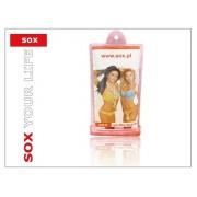 SOX X-FAN01PK univerzális vízálló mobiltelefon tok - pink