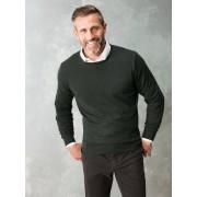 Walbusch Smart Wool Pullover Grün 50