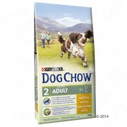 2 x 14 kg Purina Dog Chow Adult csirke