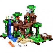 Lego Minecraft 21125 Domek Na Drzewie - Gwarancja terminu lub 50 zł! BEZPŁATNY ODBIÓR: WROCŁAW!
