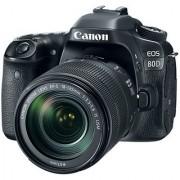 Canon EOS 80D 24.2MP Digital SLR Camera (Black) with EF-S 18-135mm IS USM Lens Kit