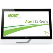 "Monitor IPS LED Acer 27"" T272HUL, Touch, WQHD (2560 x 1440), HDMI, DVI, DisplayPort, 5 ms, Boxe (Negru)"