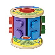 Melissa & Doug 19041 Match and Roll Shape Sorter