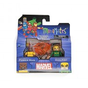 Marvel Minimates Series 2 Power Man & Iron Fist 2-Pack Figura De Acción Set