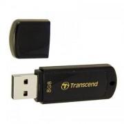 Memorie USB Transcend Memorie flash Classic JF350 8GB Black