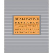 Qualitative Research: Analysis Types and Software by Renate Tesch