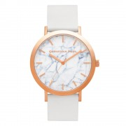 Christian Paul - Whitehaven Marble 43 MM - Rose / White