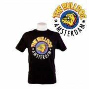 T-SHIRT THE BULLDOG NOIR