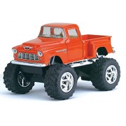 """1955 Chevy Stepside Pick-up (off Road) Kinsmart 5"""" 1:32 Scale Diecast Model Door Openable and Pull Back Action From Flying Toyszer"""