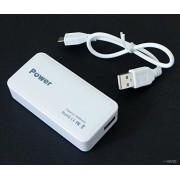 Mano® h0115600mAh alta capacidad Banco de energía,-Cargador de batería externo portátil con linterna para teléfonos móviles, iPhone, iPad, iPod, Blackberry, reproductor MP3/4, cámara, Juego, etc.