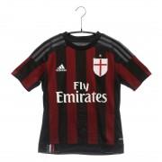 【SALE 50%OFF】アディダス adidas サッカーレプリカシャツ KIDS ACミラン ホーム S11834 ブラック (ブラックR)
