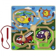 Hape - Mighty Motors Magnetic Wooden Maze Puzzle