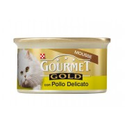 Gourmet Gold - Mousse cu pui - 85g