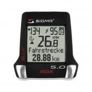 Sigmasport Rox 5.0 - Compteur sans fil vélo - noir Promotions accessoires vélo