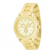 J. Goodin Chronograph Metal Wrist Watch Gold TW-26270
