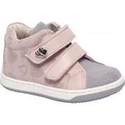 Roze leren sneaker glitters