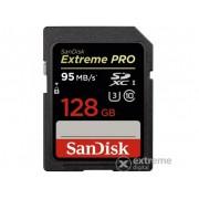 Card de memorie SanDisk Secure Digital 128GB SDXC UHS-I Extreme Pro