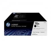 HP 78A / CE278A Black Toner Cartridge - Twin Pack