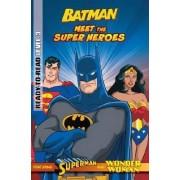 DC Comics: Meet the Super Heroes Level3: Batman Reader