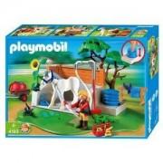Playmobil 4193 - Box De Lavage Pour Chevaux