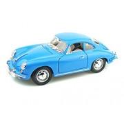 Bburago 1961 Porsche 356B Coupe, Blue