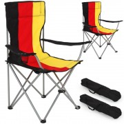 TecTake 2 campingstolar enkla Tyskland av TecTake