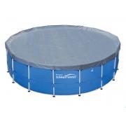 Защитно покривало Swing за басейн с тръбна конструкция 488 cm