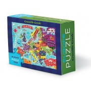 Puzzel Matchbox Puzzle Europe - Europa | Crocodile Creek