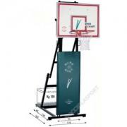 Impianto Basket Minibasket Trasportabile Sbalzo cm.50