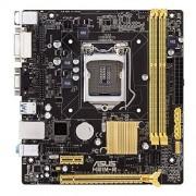 ASUS H81M-R Intel H81 Socket H3 (LGA 1150) Micro ATX - cartes mères (DIMM, DDR3-SDRAM, Dual, Intel, Celeron, Pentium, Core i3, Core i5, Core i7, Socket H3 (LGA 1150))