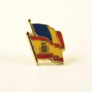 Insigna Romania - Spania