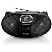 Micro Sismte Philips AZ385, CD/MP3 Player (Negru)