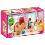 Playmobil - Rosa Habitación Del Bebé (5334)