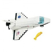 Brictek Nasa Atlantis Space Orbiter 264 Pcs Building Blocks (Compatible With Legos) With Brick Remover