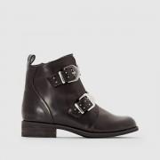 abcd'R Ботинки в байкерском стиле с ремешками и заклепками