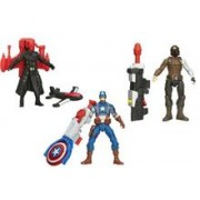 Jucarie Avengers Captain America Super Soldier Air Raid Red Skull