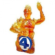 ULTIMATE FANTASTIC 4 HUMAN TORCH BUST
