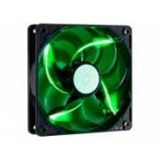 Ventilador Cooler Master SickleFlow 120 LED Verde, 120mm, 2000RPM, Negro/Verde